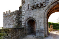 Detail of Gatehouse at Steeton Hall